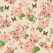 Beautiful Seamless Roses Background