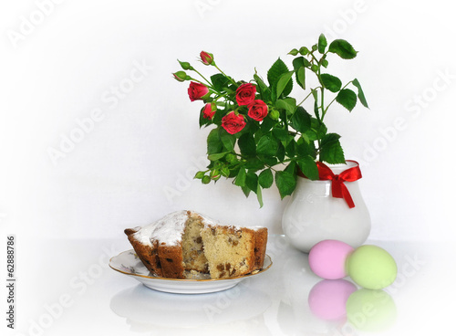 Roses, cakes and Easter eggs