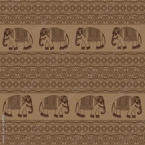 indian elephant - 62891109