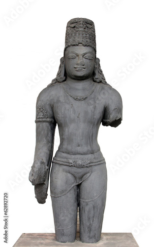 Vishnu, from 10th century, Indian Museum in Kolkata