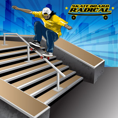 Skateboard Radical