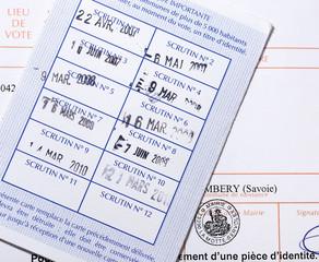 carte d'identité obligatoire pour aller voter