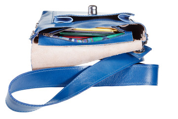 pockets a small female handbag