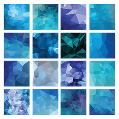 Polygonal  vector background.