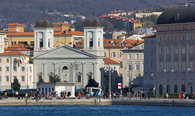Trieste's Waterfront, Italy