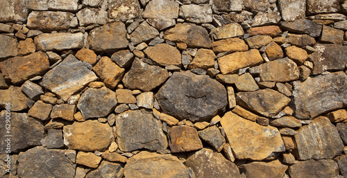indian dry stone wall background