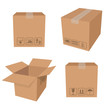 Brown boxes - 62902544