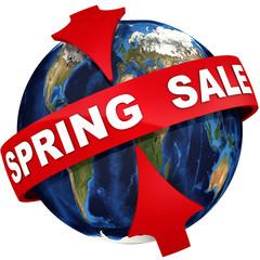 Worldwide spring sale