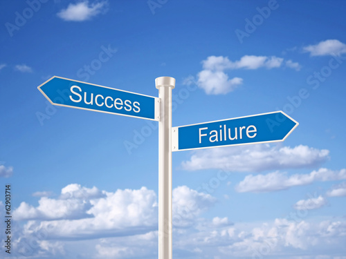 Success - Failure Sign