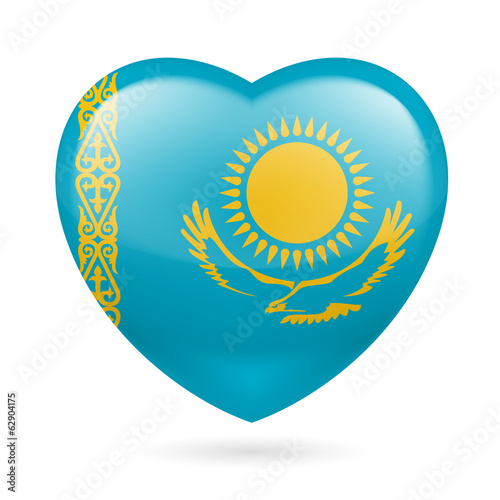 Heart icon of Kazakhstan