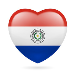 Heart icon of Paraguay