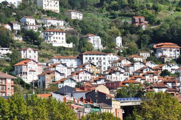 Neighborhood of Matiko-Ciudad Jardin, Bilbao (Spain)