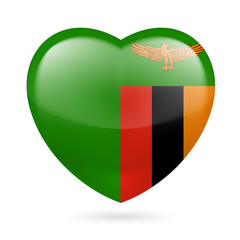 Heart icon of Zambia