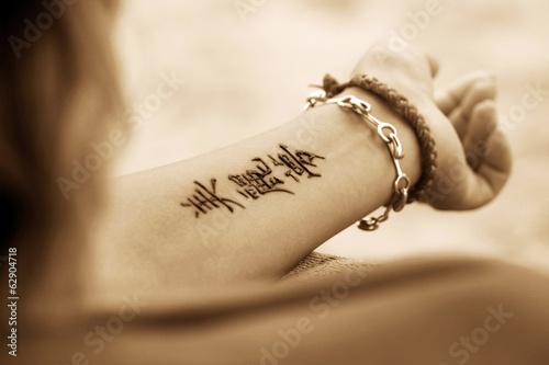 Tattoo Hand - 62904718