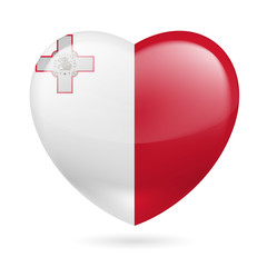 Heart icon of Malta