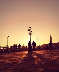 Venice, sunset time