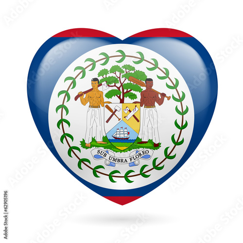 Heart icon of Belize
