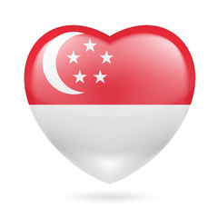 Heart icon of Singapore