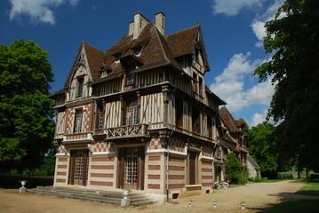Manoir de Villers, Normandie
