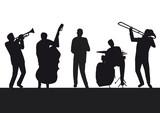 Fototapety Jazzmusiker