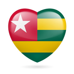 Heart icon of Togo