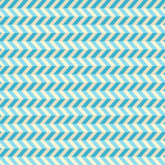 Seamless Abstract Blue Toothed Zig Zag Paper Background