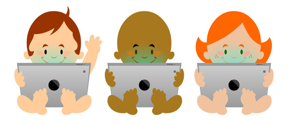 Babies on Tablets