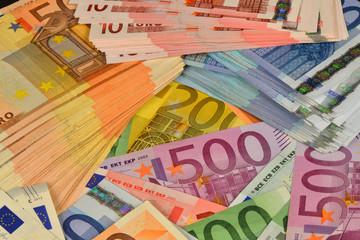 Geld, Banknoten, Euro, Finanzen, Rendite, Kapital, Vermögen