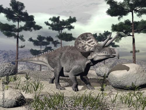 dinozaur-zuniceratops-3d-render