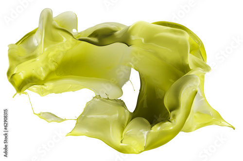 paint splash isolated on white background