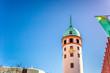 canvas print picture - Weißer Turm Darmstadt