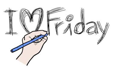 Write love friday