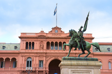 Government house in buenos aires, argentina