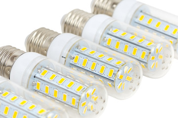 LED bulbs - corn