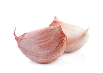 Garlic vegetable closeup