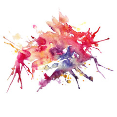 Watercolor abstract background, Vector illustration