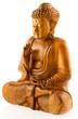 Bouddha statuette bois