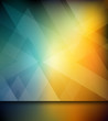 Abstract triangle design background, vector
