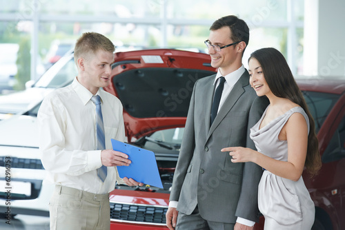 Car selling or automobile rental