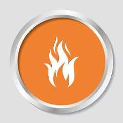 Fire warning symbol
