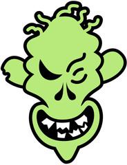 Naughty Halloween Zombie