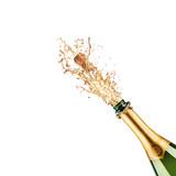 bottle of champagne - Fine Art prints