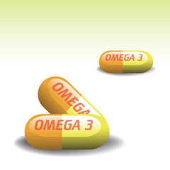 Omega three pills