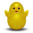 Chick Cartoon Character 3D