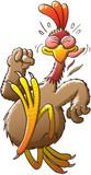 Running chicken in a hurry