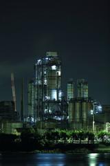 八幡の工場夜景