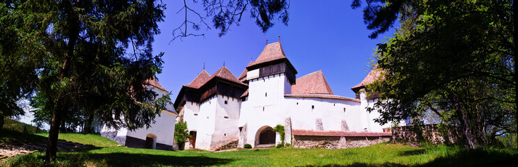 The Fortified Church from Viscri village, Transylvania, Romania