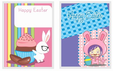 card-set-happy easter-cartoon 02