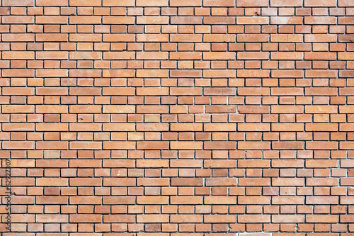 Red brick wall - textured background