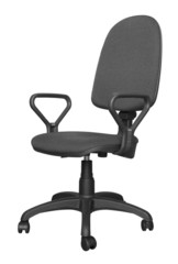 Black office armchair